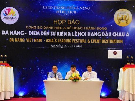 Da Nang tro thanh 'Diem den Su kien va le hoi hang dau chau A 2016' - Anh 1