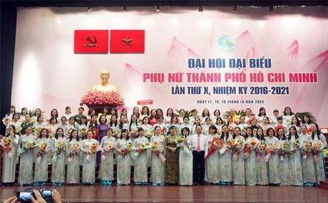 Ra mat Ban chap hanh Hoi LHPN TP.HCM lan thu X - Anh 1