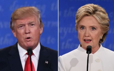 Trump-Clinton da noi sai nhung gi trong tranh luan cuoi cung? - Anh 1