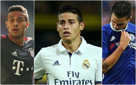 Top 10 ngoi sao co the thay the Mesut Oezil tai Arsenal - Anh 1