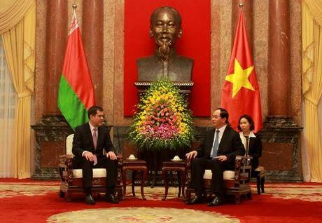 Chu tich nuoc Tran Dai Quang tiep Chu tich uy ban An ninh Belarus - Anh 1