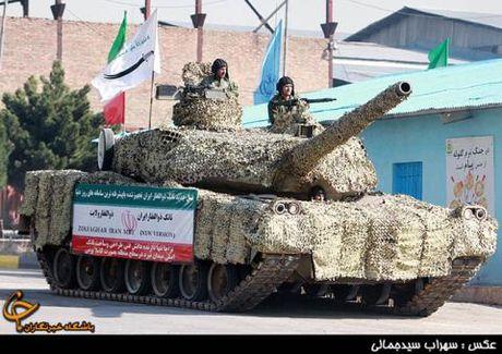 Iran khoe he thong bao ve xe tang: My them lo? - Anh 1