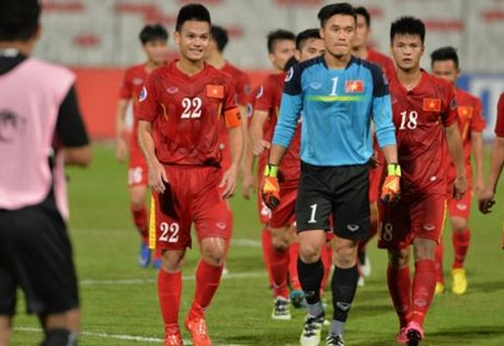 Lich thi dau vong tu ket giai U19 chau A 2016 - Anh 1