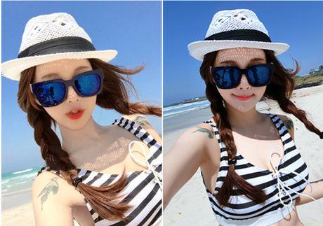 'Nong ray' voi anh bikini cua hot girl dep nhat xu Han - Anh 10