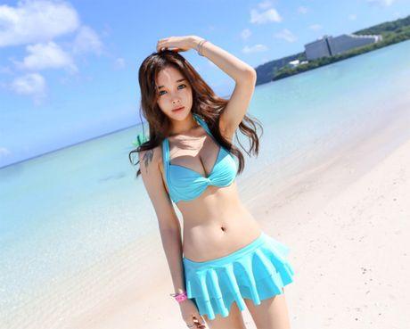 'Nong ray' voi anh bikini cua hot girl dep nhat xu Han - Anh 14