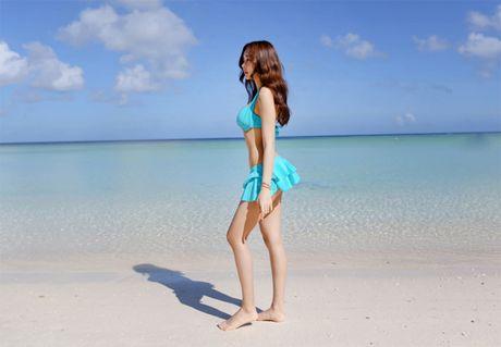 'Nong ray' voi anh bikini cua hot girl dep nhat xu Han - Anh 15