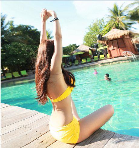 'Nong ray' voi anh bikini cua hot girl dep nhat xu Han - Anh 3