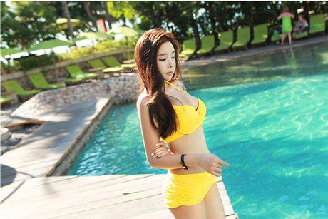 'Nong ray' voi anh bikini cua hot girl dep nhat xu Han - Anh 5