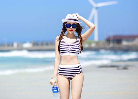 'Nong ray' voi anh bikini cua hot girl dep nhat xu Han - Anh 9
