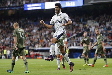 Goc thong ke: Marco Asensio an dut dan sao Real Madrid - Anh 1