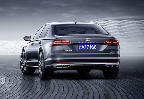 Chi tiet 'xe hop' sang Volkswagen Phideon gia 1,18 ty - Anh 4