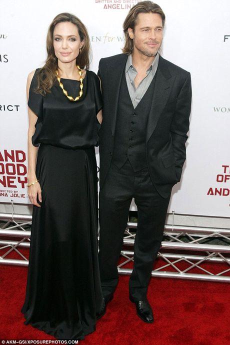 Brad Pitt khong chiu ky don ly hon Angelina Jolie - Anh 1