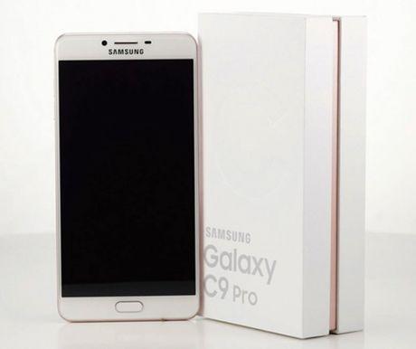 Lo dien hinh anh thuc te Samsung Galaxy C9 Pro - Anh 1