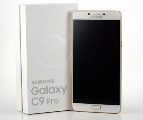 Lo dien hinh anh thuc te Samsung Galaxy C9 Pro - Anh 3