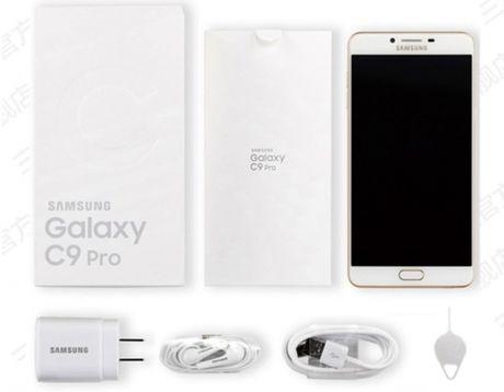 Lo dien hinh anh thuc te Samsung Galaxy C9 Pro - Anh 5