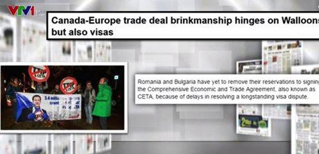 Vi sao Thoa thuan CETA lai gap tro ngai? - Anh 1