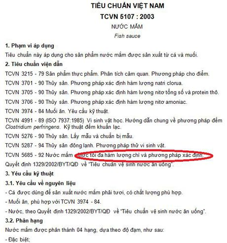 Vinastas tuong 'con voi chui lot lo kim', nhung 2 tu trong quy dinh cua Bo Y te 'minh oan' cho nuoc mam truyen thong! - Anh 5