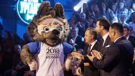 Soi Zabivaka la linh vat cua World Cup 2018 - Anh 1