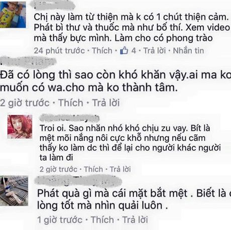 Thuy Tien dap tra gay gat khi bi noi 'lam tu thien nhu bo thi' - Anh 1