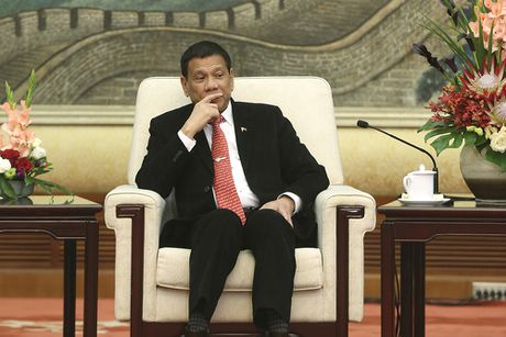 Tong thong Duterte: Philippines khong cat dut quan he voi My - Anh 1
