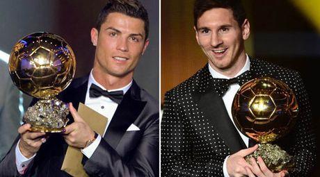 Messi - Ronaldo dua QBV FIFA: Tro dua cua so phan - Anh 1