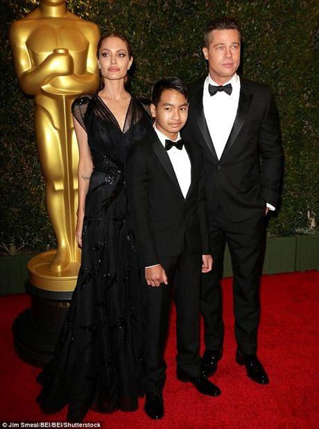 Brad Pitt ne tranh cai ly hon voi Angelina Jolie vi so anh huong den con - Anh 1