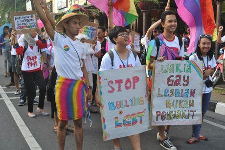 Tong thong Indonesia lan dau len tieng bao ve cong dong LGBT - Anh 2