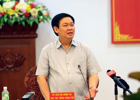 Pho thu tuong Vuong Dinh Hue: 'Dut khoat khong de no cho doi sau ganh!' - Anh 1