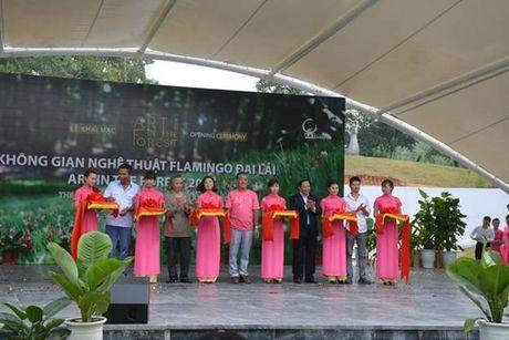Dam chim khong gian nghe thuat tai Flamingo Dai Lai Resort - Anh 1