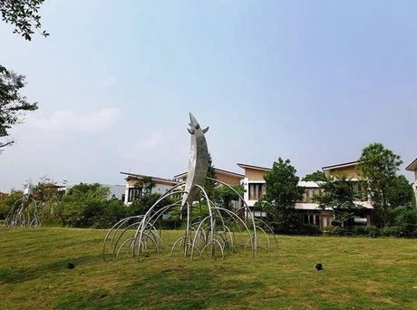 Dam chim khong gian nghe thuat tai Flamingo Dai Lai Resort - Anh 4