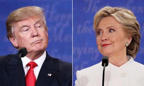 Trump thu hep khoang cach voi Clinton sau be boi sam so phu nu - Anh 1