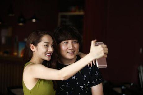 Bao Anh xe nguc sexy tap nhac, khong moi Ho Quang Hieu hat trong minishow - Anh 7