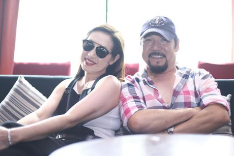 Bao Anh xe nguc sexy tap nhac, khong moi Ho Quang Hieu hat trong minishow - Anh 8