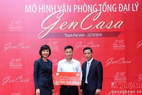 Khai truong Van phong Tong Dai ly GenCasa tai TP Vinh - Anh 4