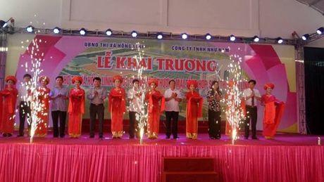 Ha Tinh: Dua gan 1000 ki ot tai Trung tam thuong mai Hong Linh vao hoat dong - Anh 2