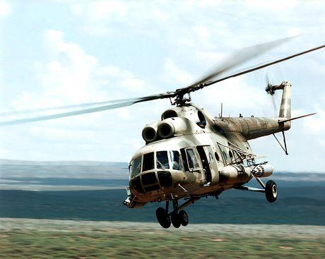 Roi truc thang Mi-8 cua Nga, 19 nguoi thiet mang - Anh 1