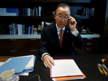 Ong Ban Ki-moon de ngo kha nang ve Han Quoc tranh cu tong thong - Anh 1