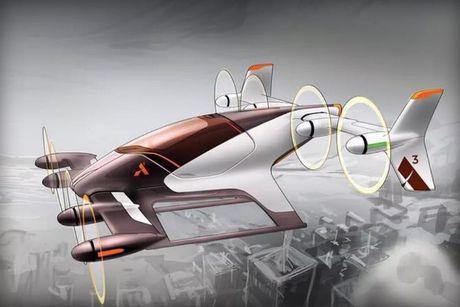 Airbus tiet lo du an xe bay Vahana - Anh 1