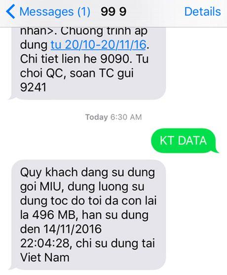 Giam sat va gioi han dung luong 3G/4G su dung tren iPhone - Anh 1