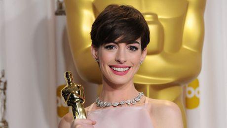 Anne Hathaway thu nhan da gia vo hanh phuc khi thang Oscar 2013 - Anh 1