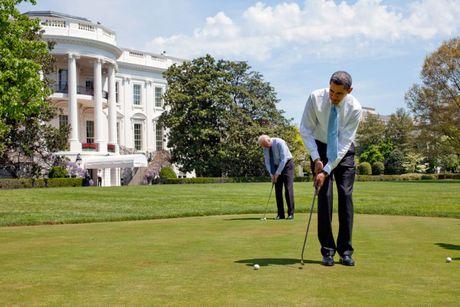 Nhung buc anh dep cua ong Obama khi lam tong thong - Anh 12