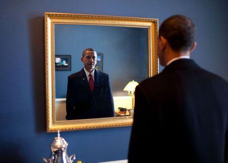 Nhung buc anh dep cua ong Obama khi lam tong thong - Anh 2