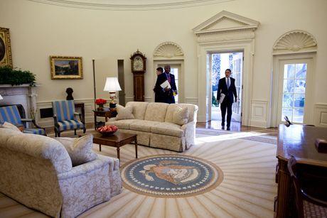 Nhung buc anh dep cua ong Obama khi lam tong thong - Anh 4