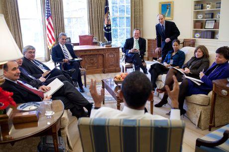 Nhung buc anh dep cua ong Obama khi lam tong thong - Anh 7
