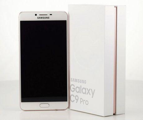 Samsung Galaxy C9 Pro RAM 6 GB lo anh thuc te - Anh 6