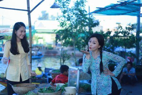 Vo chong Ngoc Lan yeu nhau say dam tren phim - Anh 1