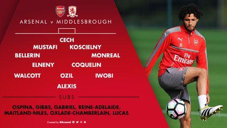 Arsenal vs Middlesbrough (0-0, HT): Cech lien tiep cuu thua - Anh 18