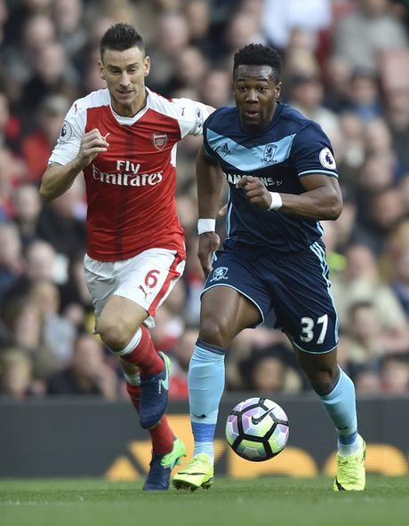 Arsenal vs Middlesbrough (0-0, HT): Cech lien tiep cuu thua - Anh 6