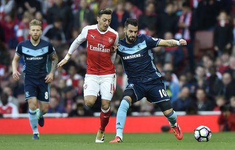 Arsenal vs Middlesbrough (0-0, HT): Cech lien tiep cuu thua - Anh 8