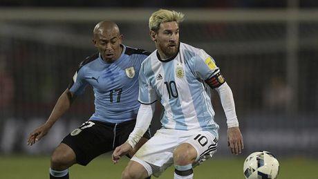 Messi tro lai sau chan thuong, Argentina khap khoi - Anh 1